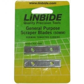 Linbide General Purpose Scraper Blade 2 Pack 50MM