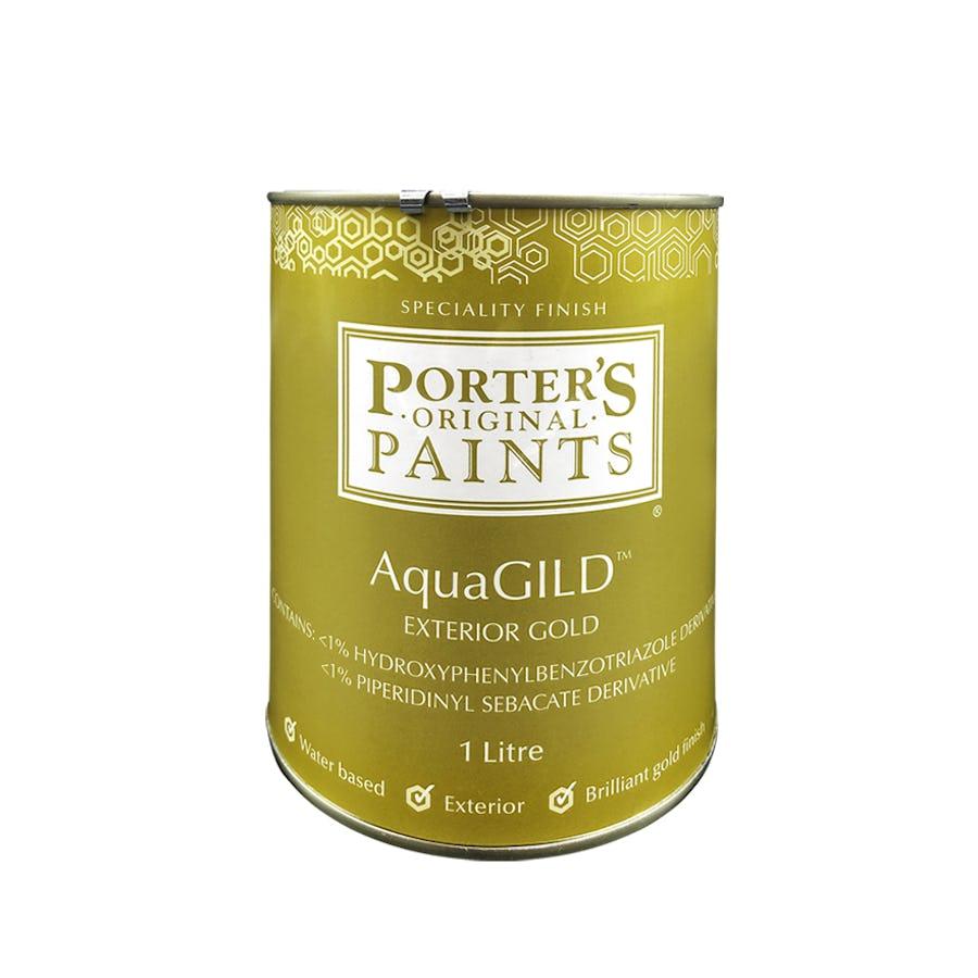 Porter's AquaGILD™ Exterior Gold 4L