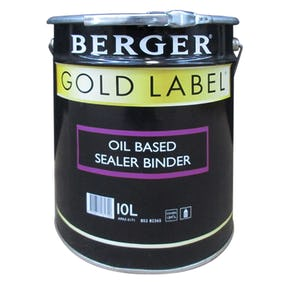 Berger Gold Label Solvent Based Sealer White 10L