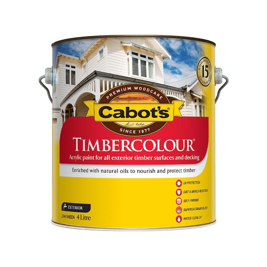 Cabot's Timbercolour Deck & Exterior Paint