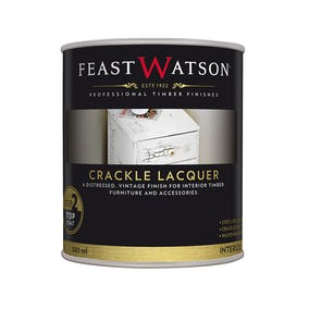 Feast Watson Crackle Lacquer Top Coat 500ml