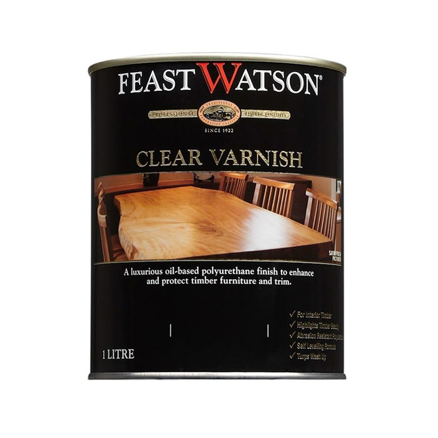 Feast Watson Clear Varnish Gloss 4L