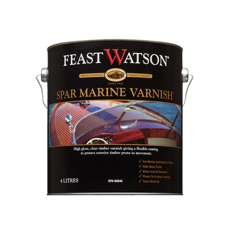 Feast Watson Spar Marine Varnish 4L