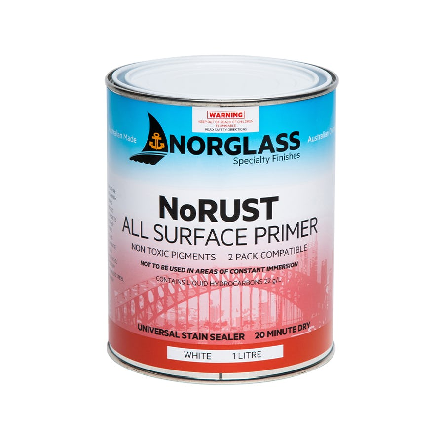 Norglass NoRust All Surface Primer White 4L