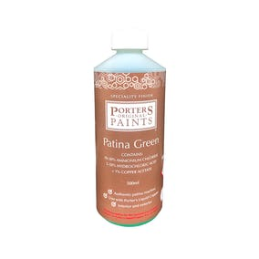 Porter's Patina Green Solution 500ml