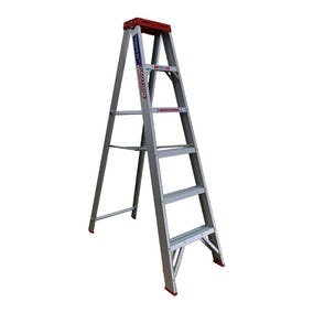 Indalex Single Side Aluminium Ladder STEP 6'