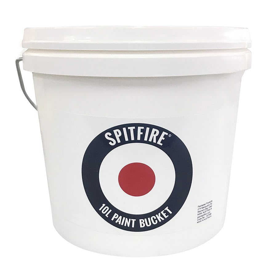 Spitfire Paint Bucket with Steel Handle 10L