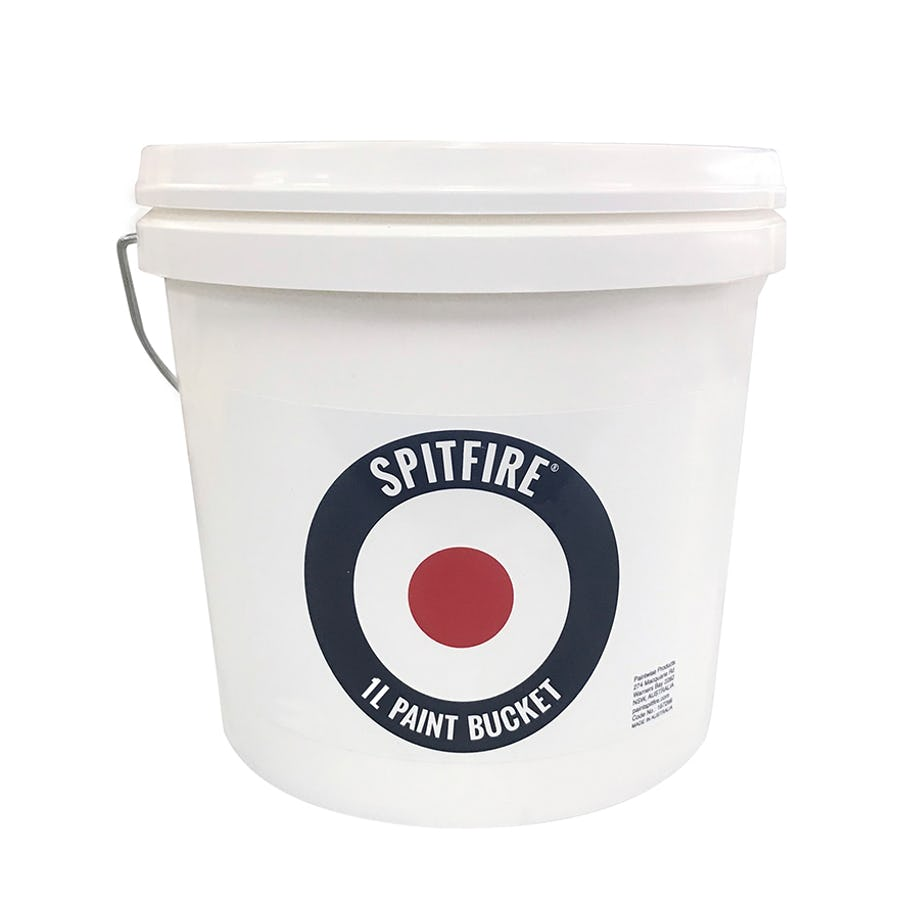 Spitfire Paint Bucket with Plastic Handle 1L