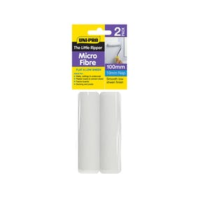 unipro-little-ripper-microfibre-rollers-2pack-100mm-x-10mm-nap